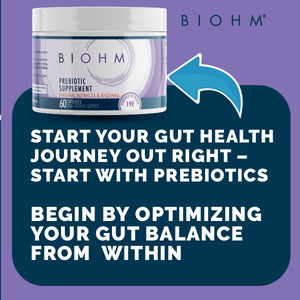 Prebiotic Supplement to Optimize your Gut Health