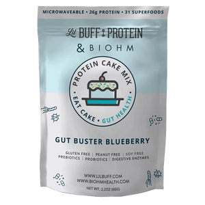 Gut Buster Blueberry with Super Greens