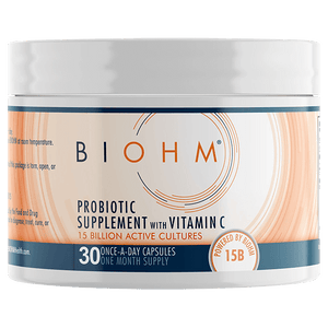 Immunity Probiotic Supplement with Vitamin C
