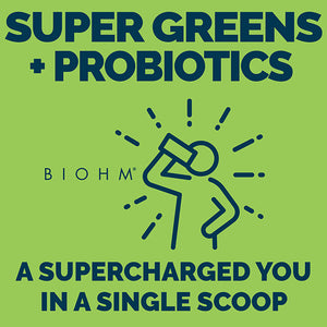 Supercharged organic super greens powder