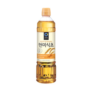 Chung Jung One Brown rice vinegar 현미식초 30.4 fl oz, 12-count