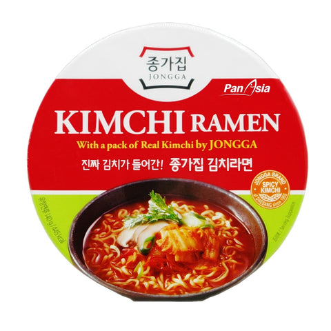 Kimchi Ramen(with a Pack of Real Kimchi) / Box