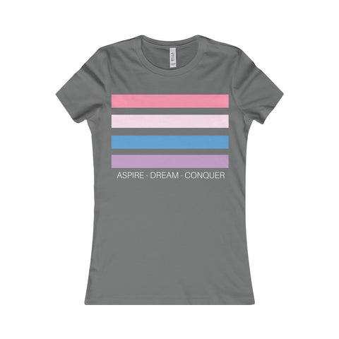 Aspire Dream Conquer - Light | Women's T-Shirt, T-Shirt, SJ Corbyn