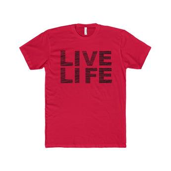 Live Life | Fitted Tee, T-Shirt, SJ Corbyn