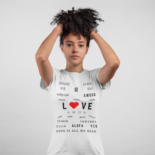 SJ Corbyn | Love Is All We Need | Women's Tee