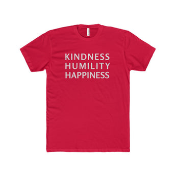 Kindness Humility Happiness | Fitted Tee, T-Shirt, SJ Corbyn