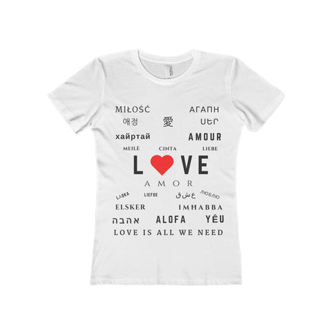 SJ Corbyn | Love Is All We Need | Women's Tee, T-Shirt, SJ Corbyn