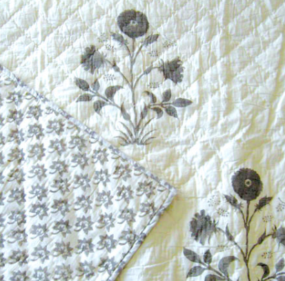 One Les Indiennes Veronique Quilt.