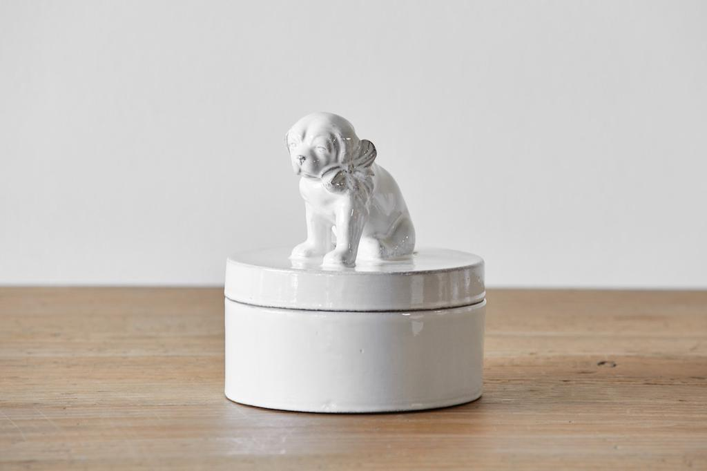 Astier de Villatte | Ceramic Dog Box