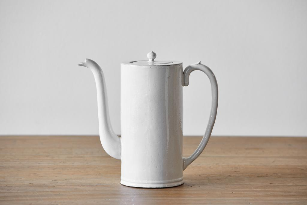 Astier de Villatte, Colbert Coffee Pot, Large