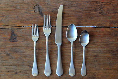 Dolce Vita Italian Flatware Five Piece Set