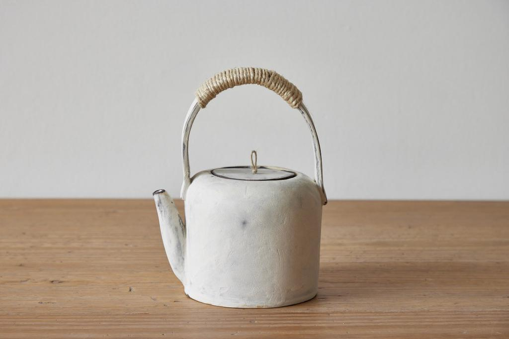 Hand and Fire Teapot, No. 3