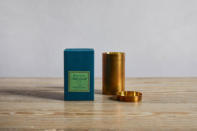 One Bellocq Atelier Queen's Guard Candle and box.