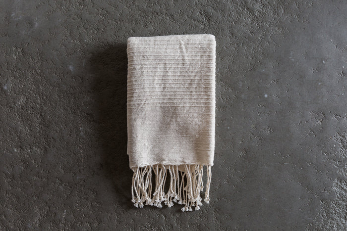 CREATIVE WOMEN | RIBBED STRIPE HAND TOWEL