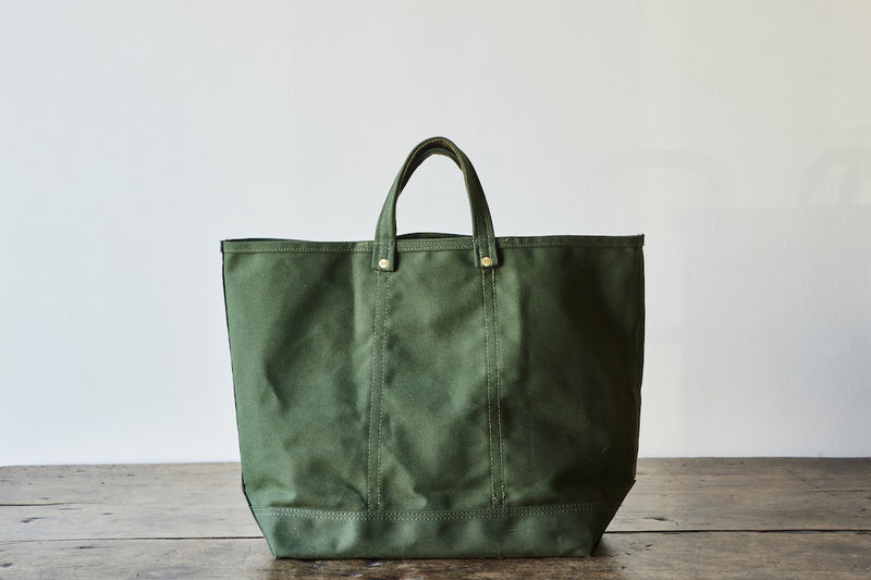 Todd Magill X Nickey Kehoe Canvas Tote, Olive
