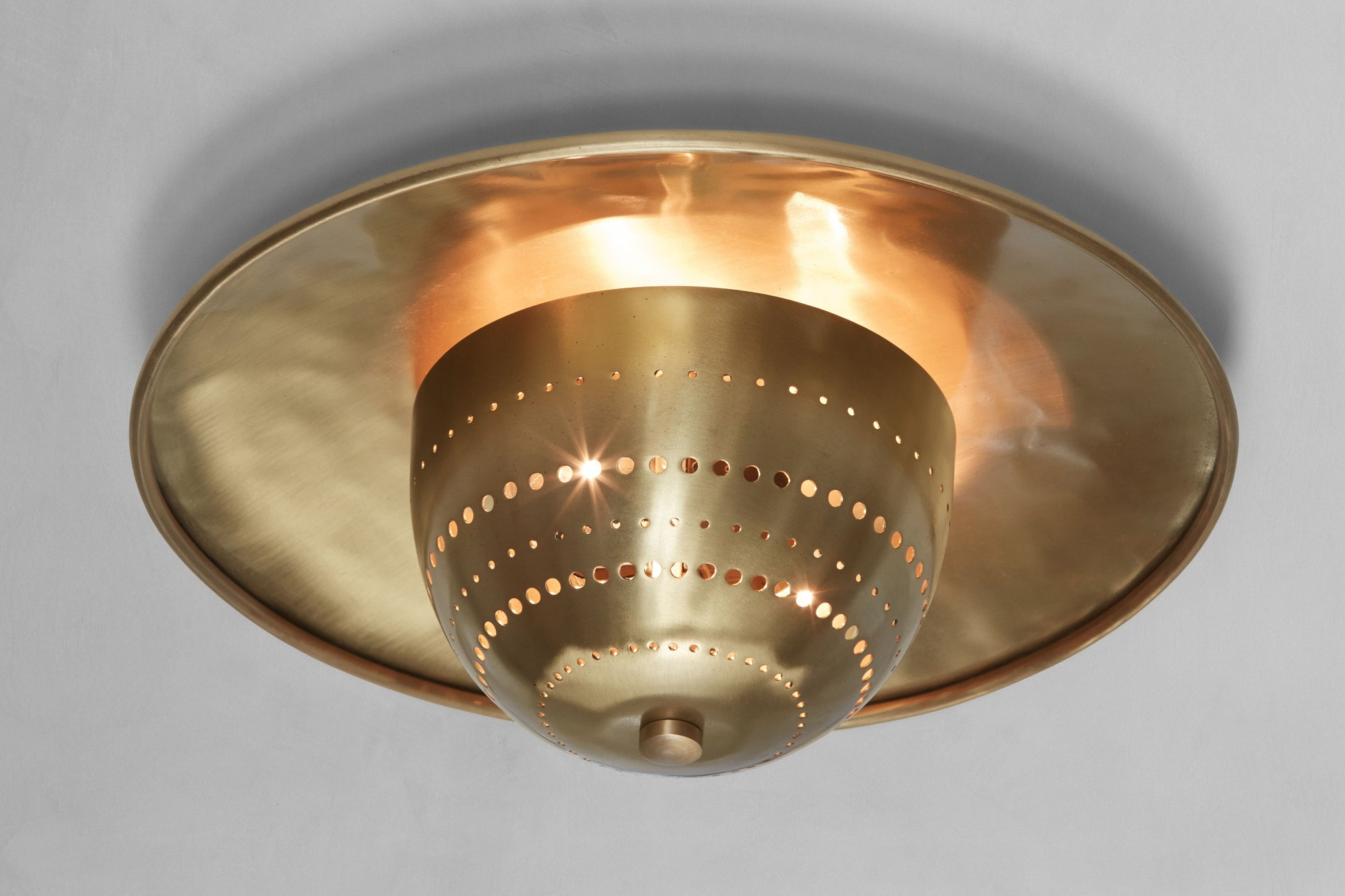 One Nickey Kehoe Convex Flush Mount.