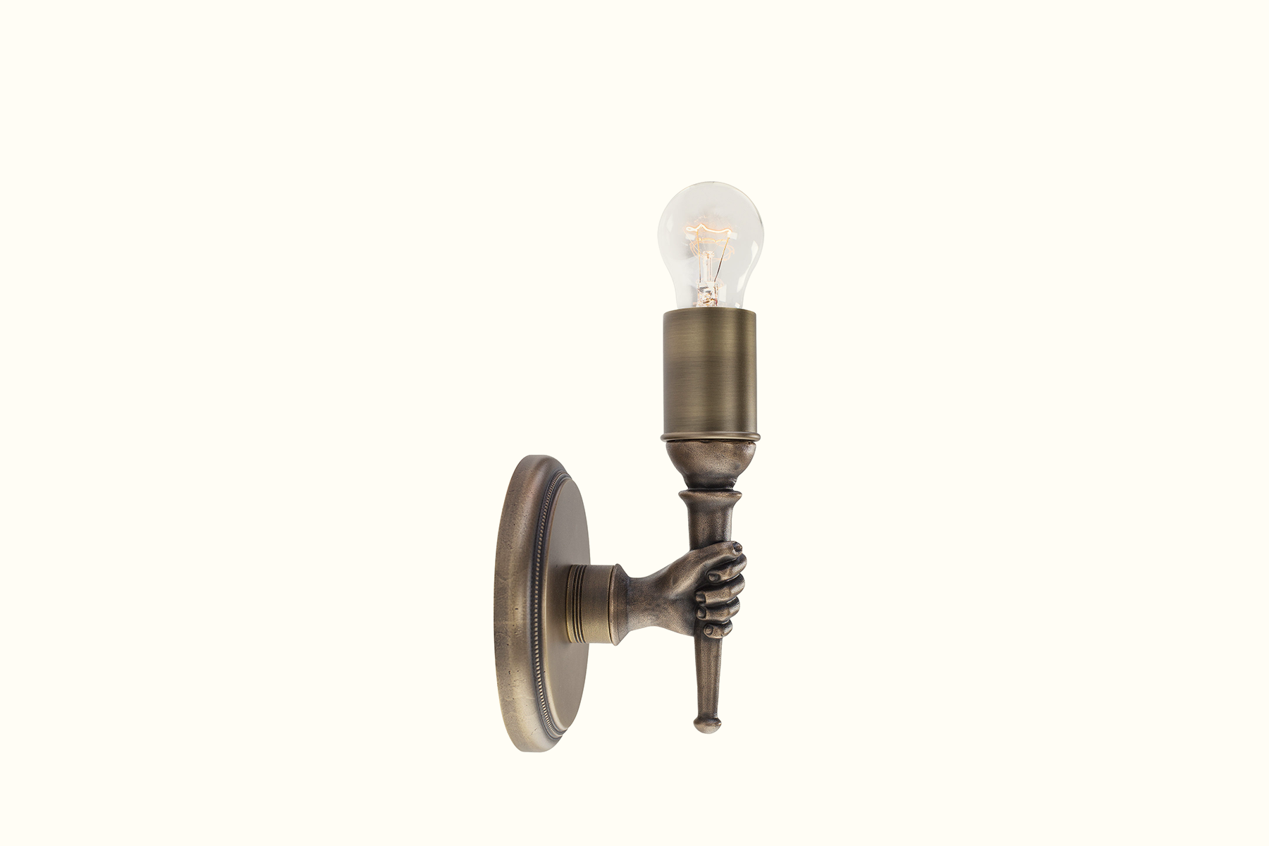 Nickey Kehoe Hand Sconce