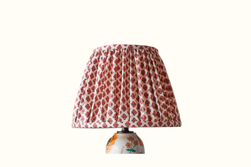 Lampshade in Howe Brick Knurl