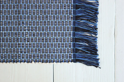 One Oxford Hand Loomed Rug.