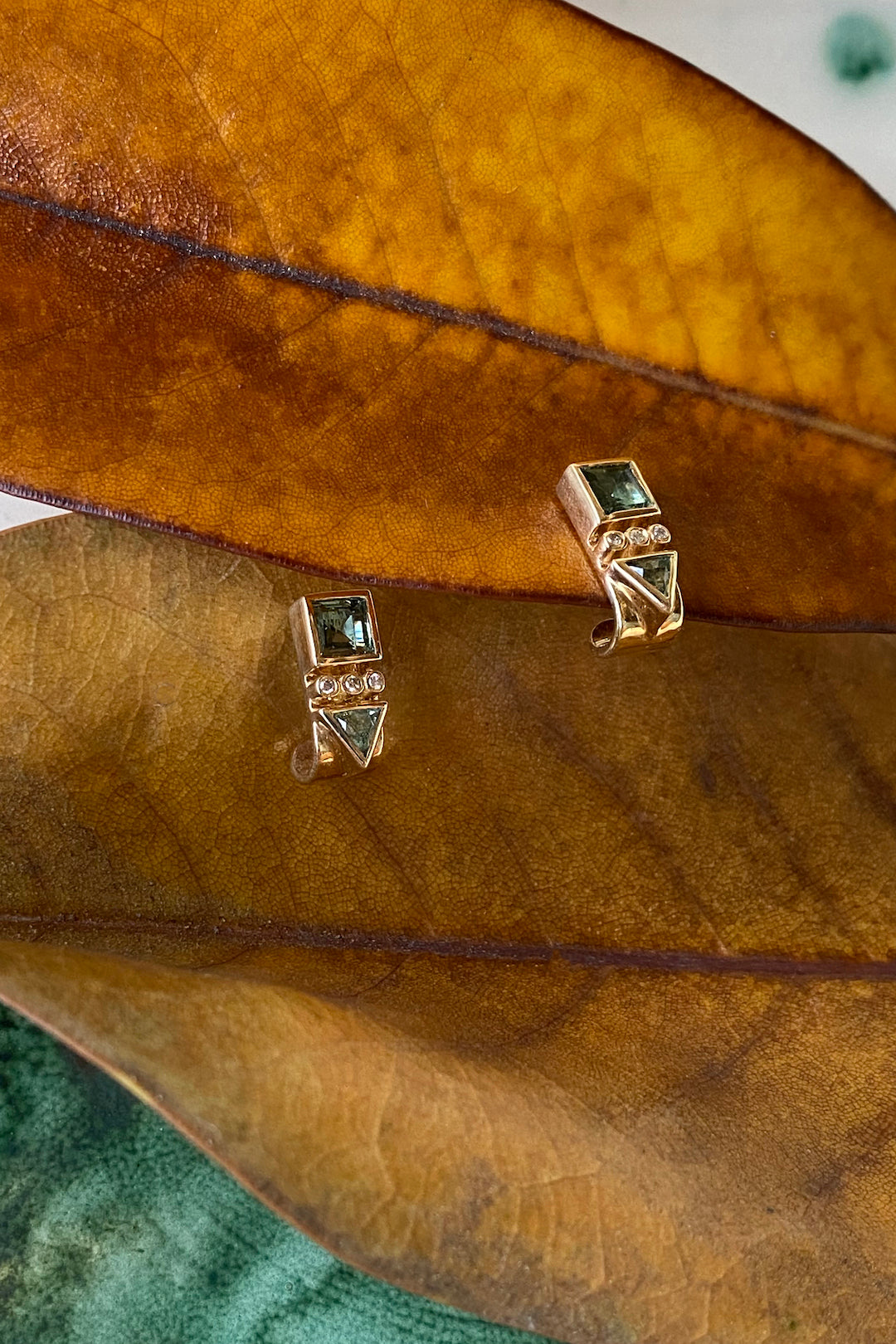 Celine D'Aoust Tourmaline Totem Earrings