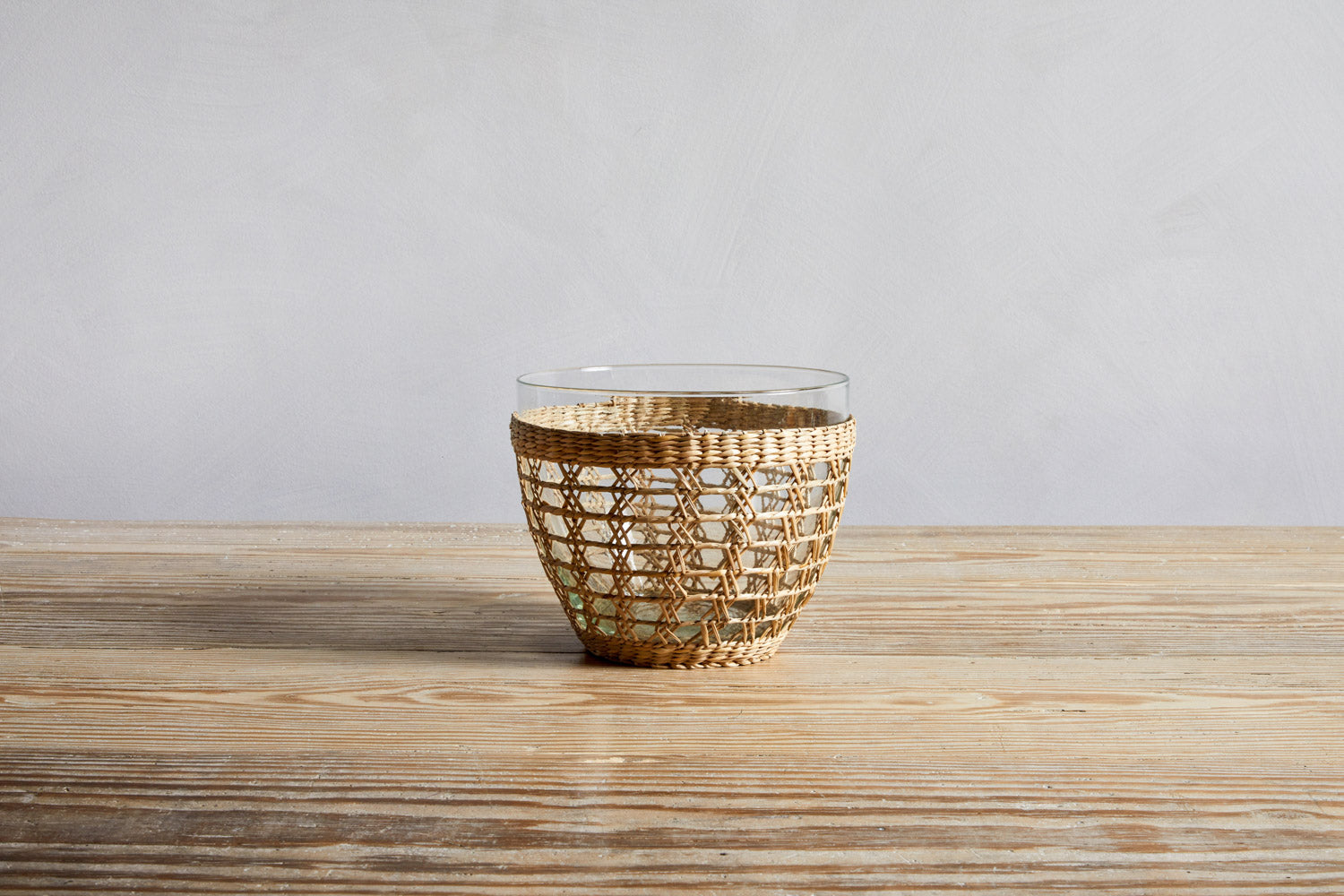 Indochine Seagrass Cage Serving Bowl