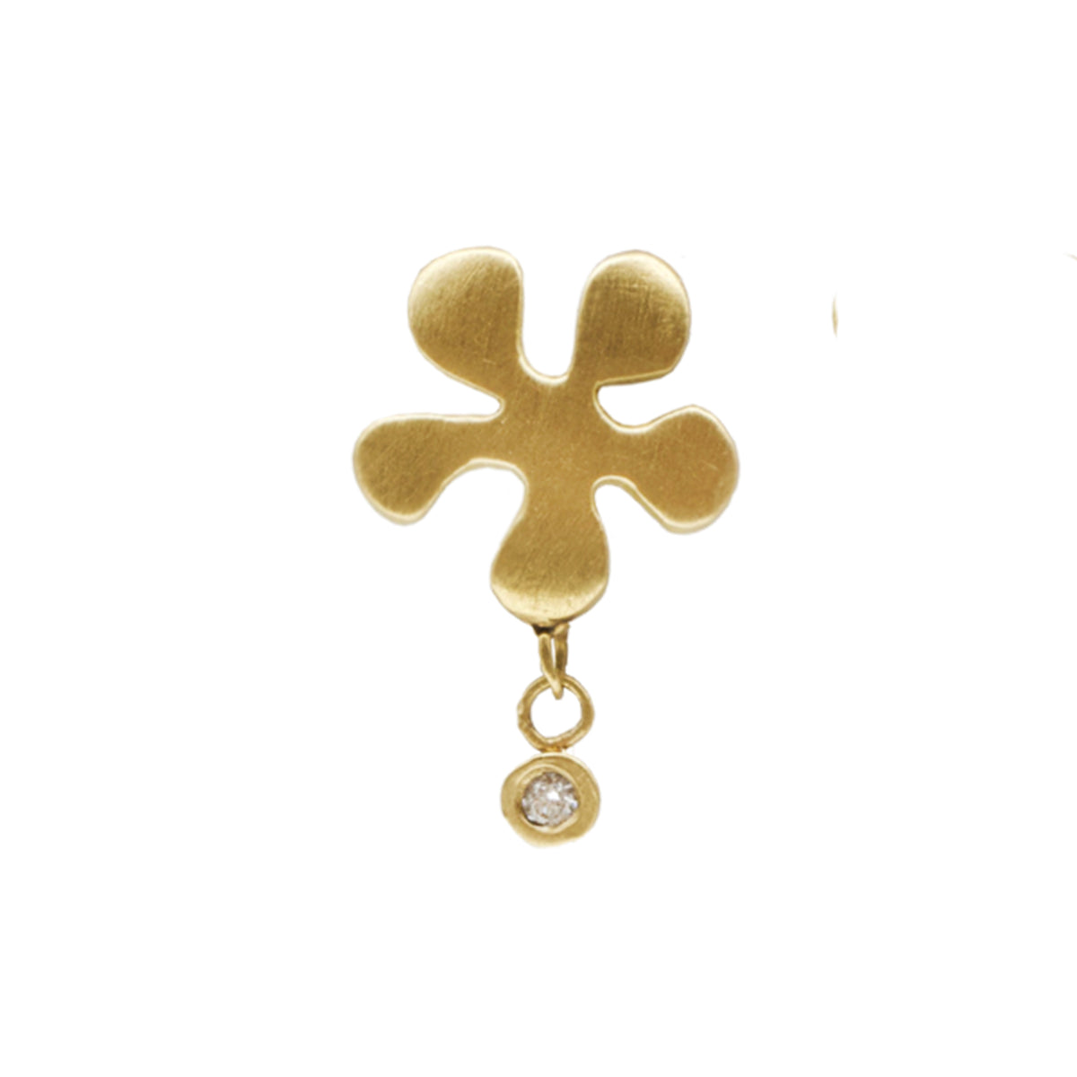 Jenna Katz Diamond Sea Flower Earring