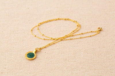 TAKARA Moray Necklace with Turquoise