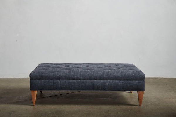 Nickey Kehoe Tufted Ottoman