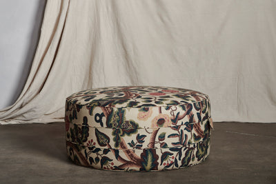 Nickey Kehoe Round Hassock
