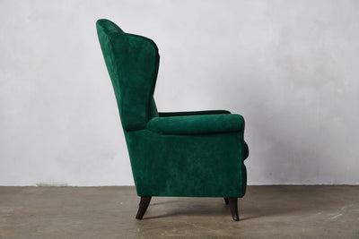 Nickey Kehoe Italian Wing Back Chair