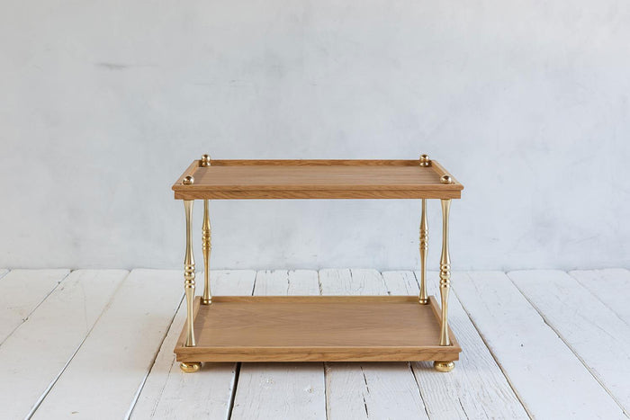 Nickey Kehoe Turned Brass Side Table