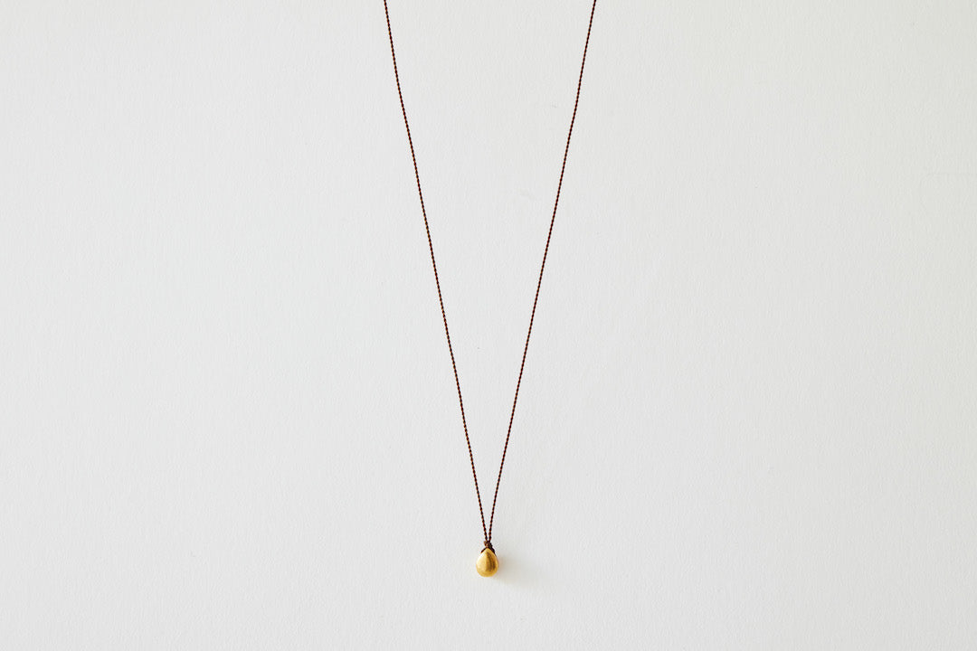 Margaret Solow, 22K Gold Droplet Pendant