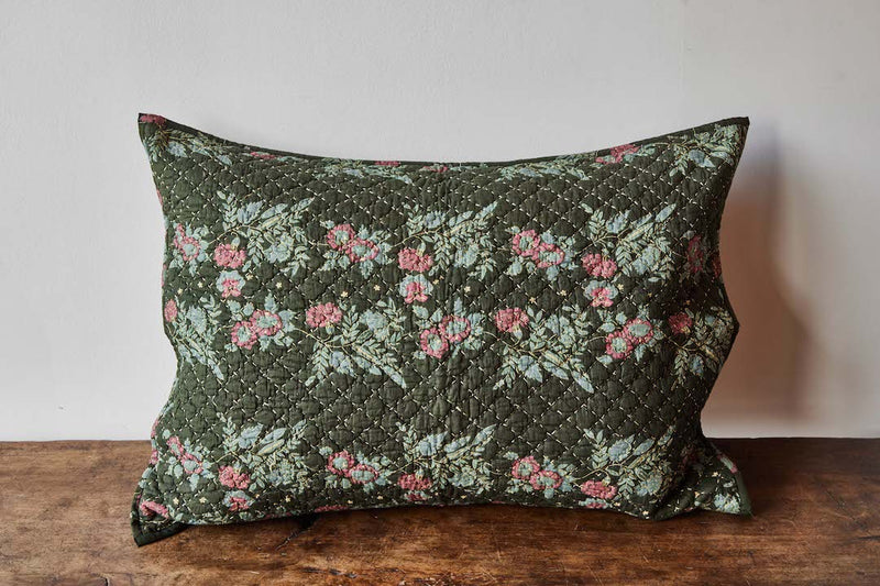 Nickey Kehoe Collection Sham, Forest Floral