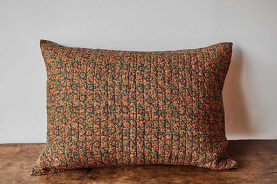 Nickey Kehoe Collection Sham, Marigold Floral Maze