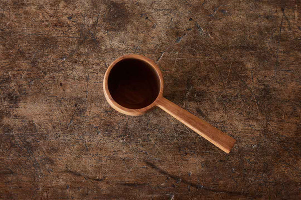 Teak Coffee Scoop