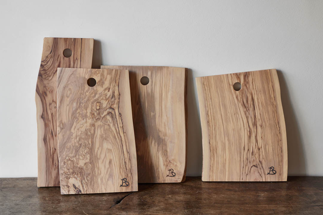 Andrea Brugi, Olive Wood Cutting Boards (Multiple Sizes)