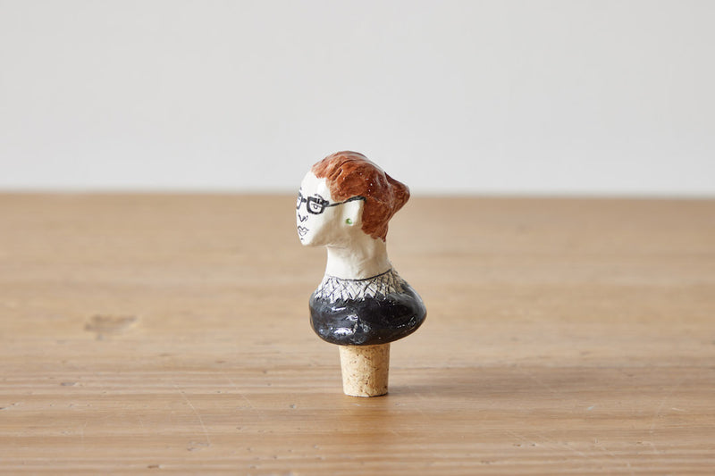 RBG Ceramic Wine Stopper