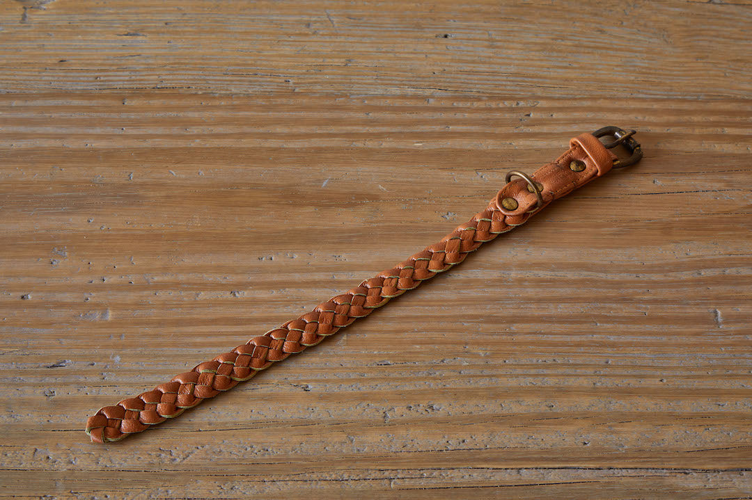 Braided Windsor Collar, Tan
