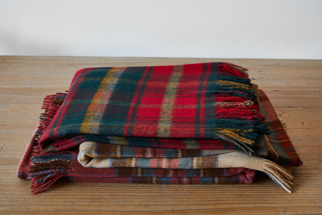 Tartan Lambswool Throw