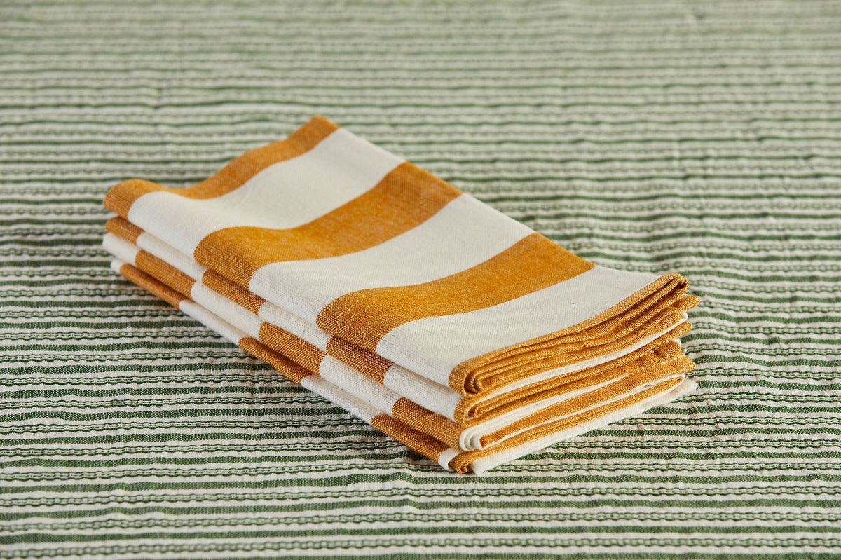Heather Taylor Home Milos Napkin, Goldenrod