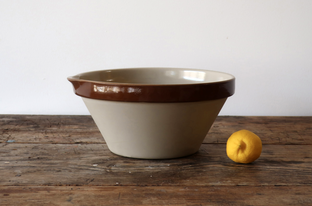Vintage French Batter Bowls