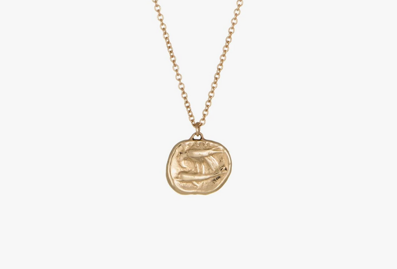 Kathryn Bentley Gemini Coin Pendant