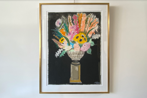 Liz Young, Sunflower Arrangement