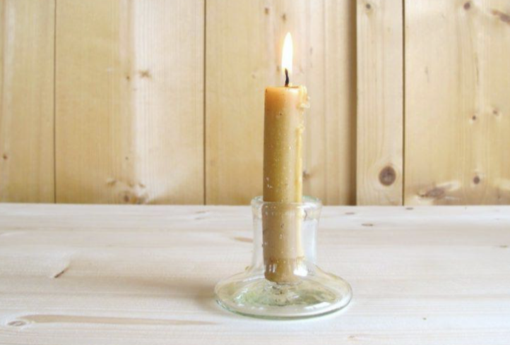 La Soufflerie Petite Glass Candlestick Holder