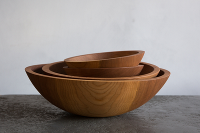 Nickey Kehoe Cherry Wood Bowls.