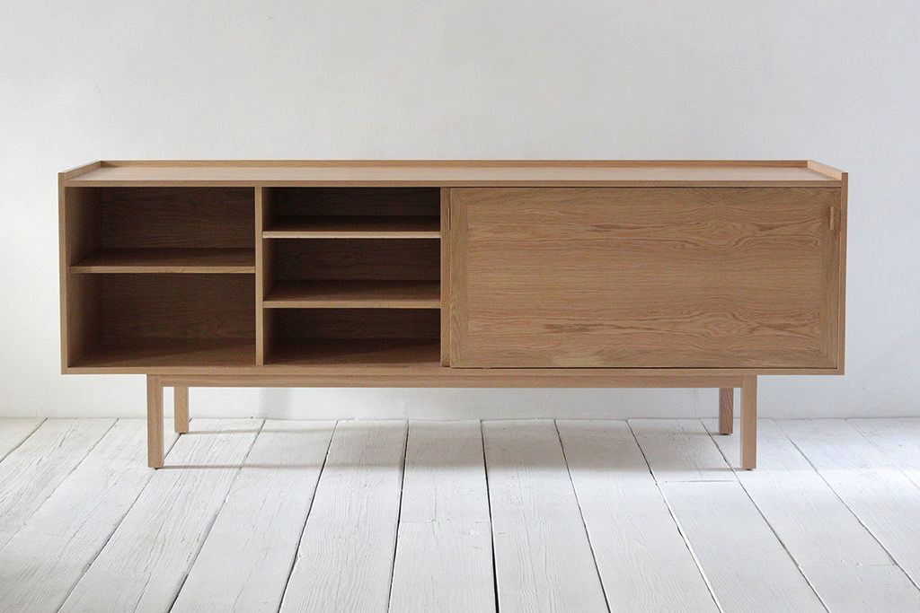One Nickey Kehoe Purist Credenza.