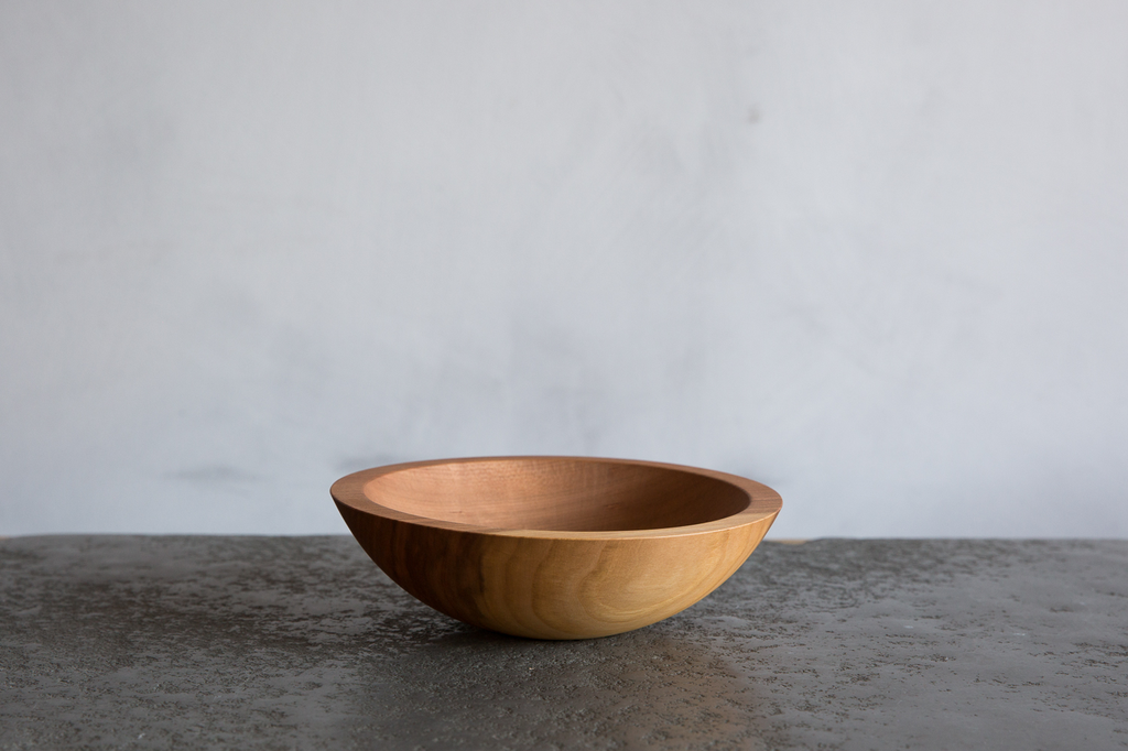 "Nickey Kehoe Cherry Wood 8"" Bowl"