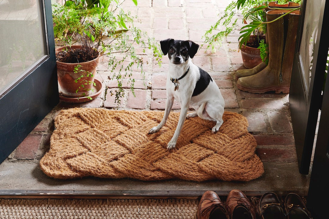 Natural Braided Rope Door Mat