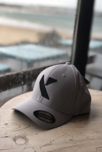 Grey (Black Logo) Kaleido Hat