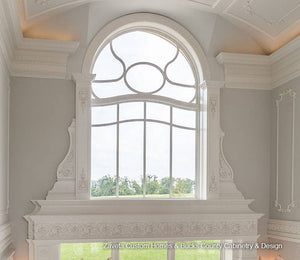The Designing of a Grand, Ornate Window Surround